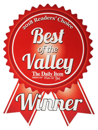 Best of the Valley 2018 Winner Ribbon Stush Orthodontics